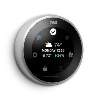 Nest (T3007ES) Learning Thermostat