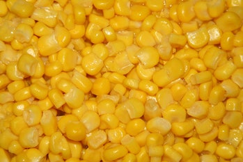 corn rich buttery roasted sweet reduced sodium health vegetables closeup