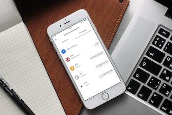 Revolut's cryptocurrency platform.