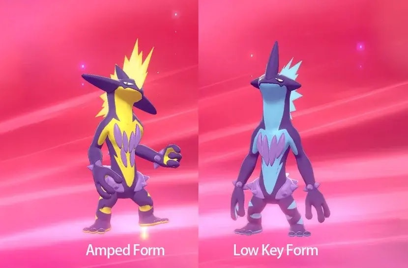 Toxtricity pokemon sword and shield