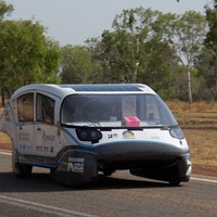 Electric solar car packs Tesla-beating range with the energy of a kettle