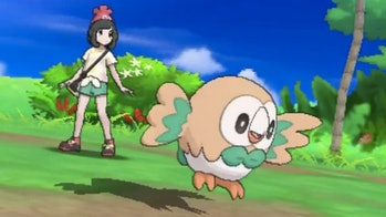 Pokemon Sun and Moon fro Nintendo and Game Freak