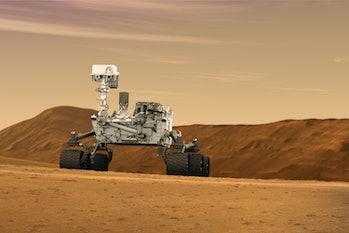 Mars Curiosity Radiation