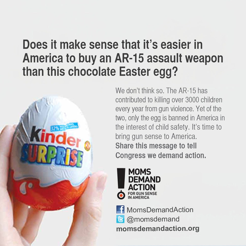 Why Kinder Eggs Are Illegal In The U S Unlike Semi Automatic Rifles