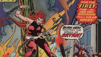 Satana Hellstrom, as seen in the Marvel comics