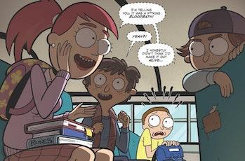'Rick and Morty vs. Dungeons & Dragons' Comic