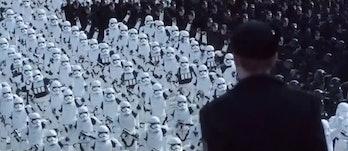 The First Order at Starkiller Base.