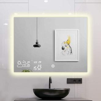 ByeCold Vanity Touchscreen Mirror