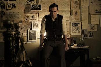 Nicholas Hoult as J. R. R. Tolkien in 'Tolkien'.