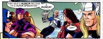 Flash Museum DC Comics Marvel Avengers