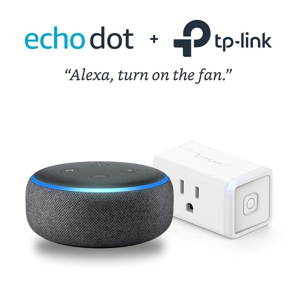 Echo Dot & TP-Link Smart plug combo