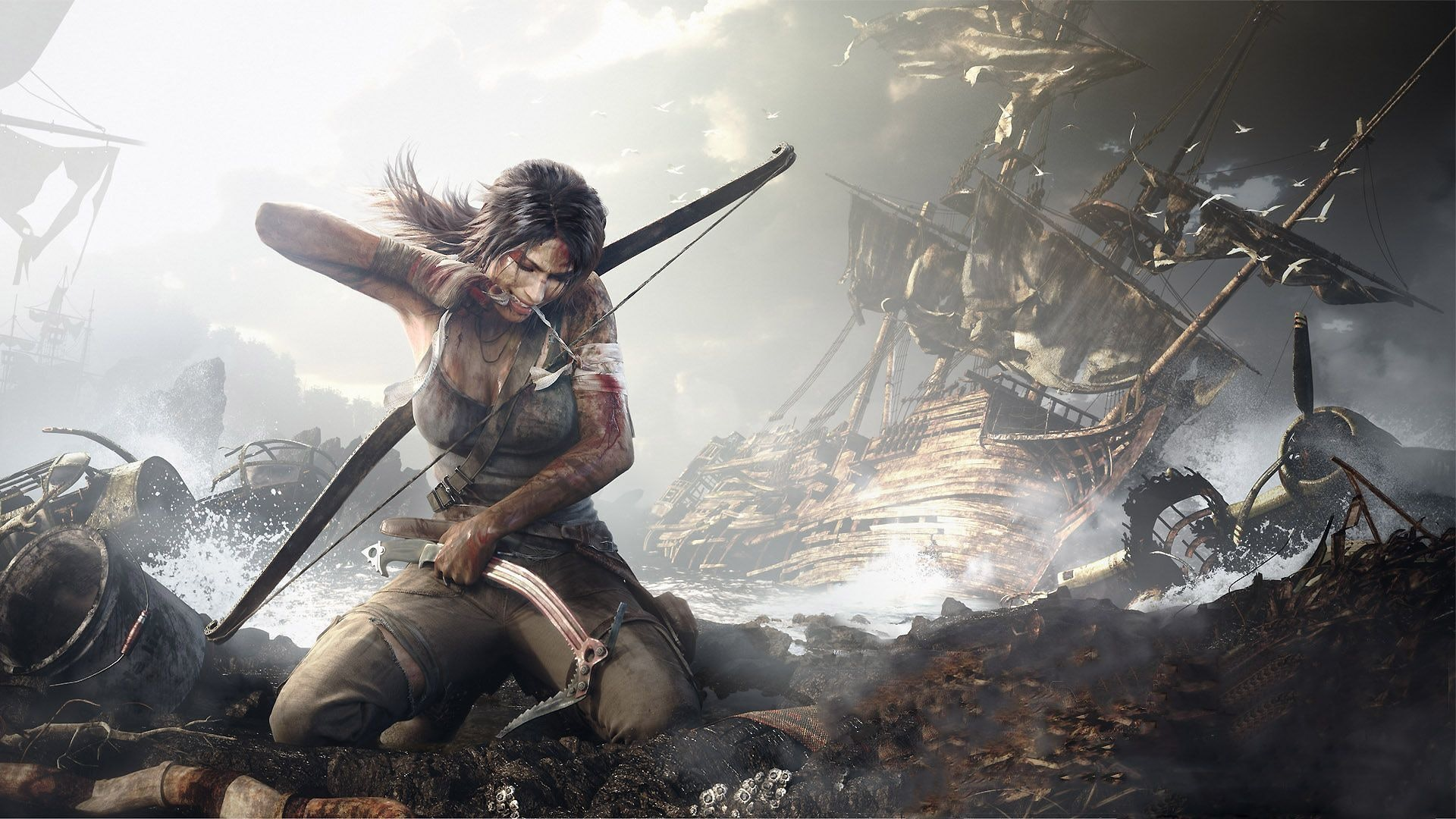 Tomb Raider (2013) from Cyrstal Dynamics and Square-Enix