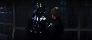 Vader tells Luke that he doesn't know ANYTHING about the Dark Side.