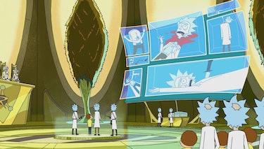 "'Rick and Morty' ""Close Rick-Counters of the Rick Kind"""