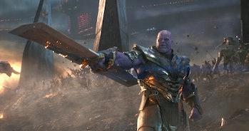 thanos in avengers endgame