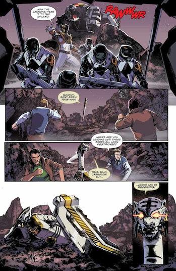 Power Rangers White Ranger comics