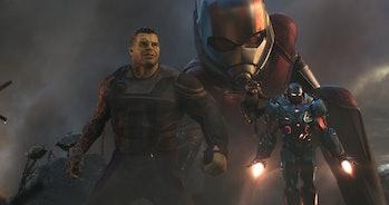 avengers endgame final battle hulk ant-man rocket war machine