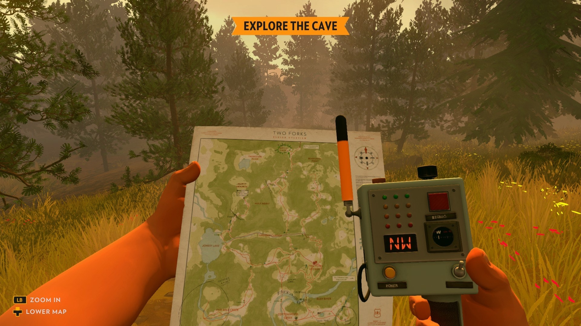 Holy Shit This Firewatch Game Is Goddamn Gorgeous