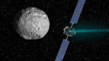 Vesta asteroid NASA Dawn