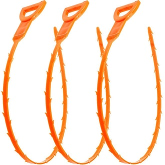 Vastar 19.6 Snake Hair Drain Clog Remover Cleaning Tool