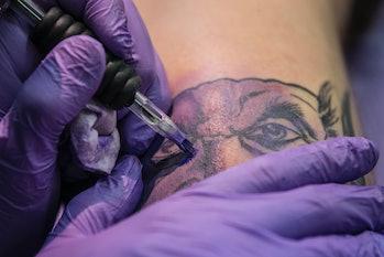 tattoo albert einstein dan gold science