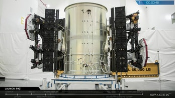 One of two satellite internet demonstration satellites launched by SpaceX on February 22, 2018. They were called Tintin A and Tintin B.