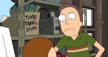 """Rick's had that """"Time Travel Stuff"""" since the beginning of 'Rick and Morty'."""