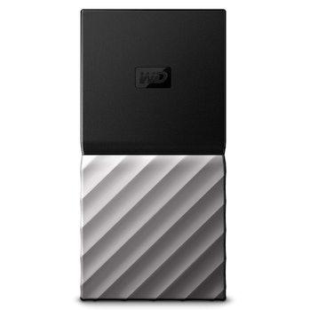 WD 2TB My Passport SSD Portable Storage - USB 3.1 - Black-Gray - WDBKVX0020PSL-WESN