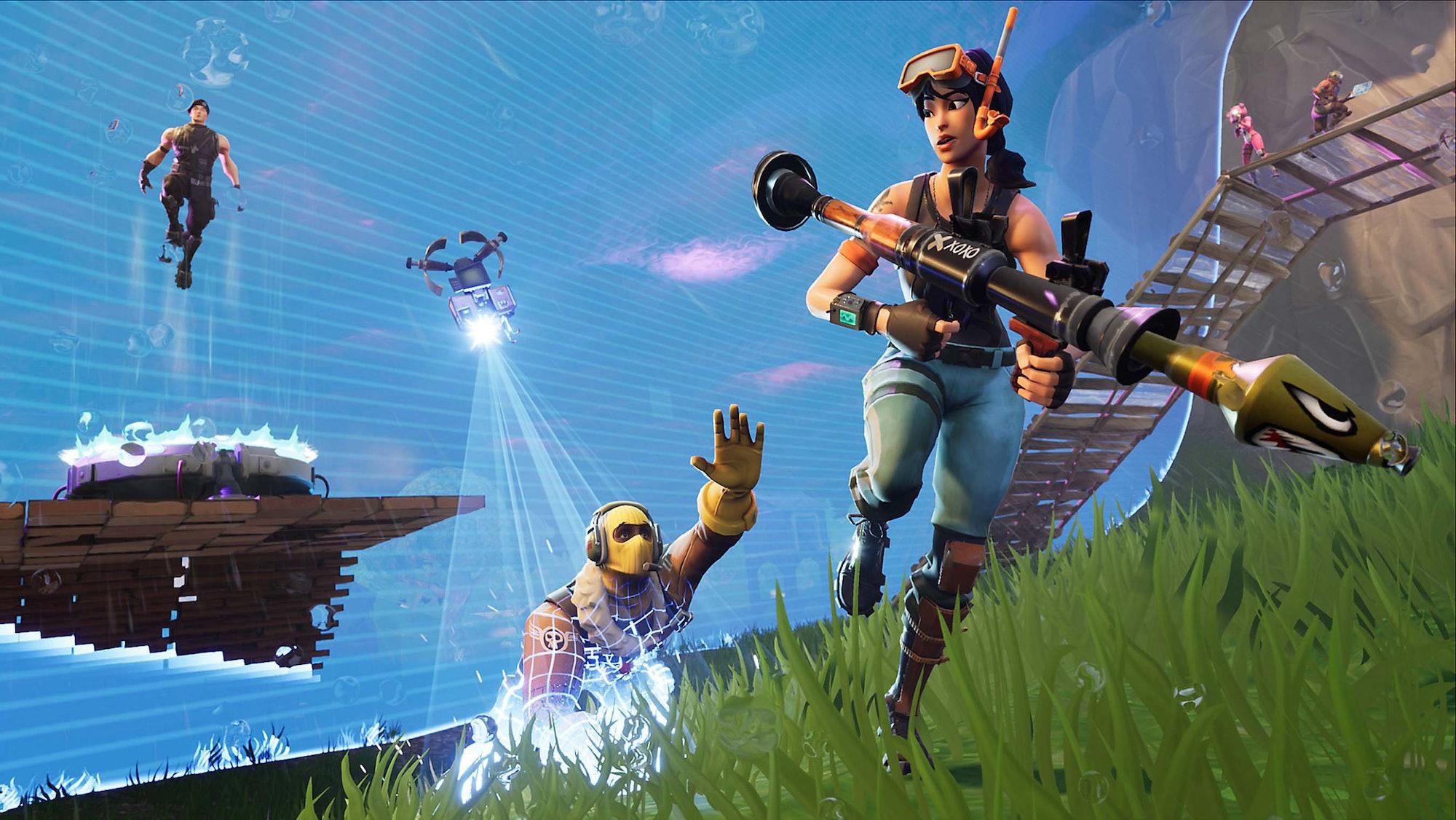 'Fortnite: Battle Royale' Storm