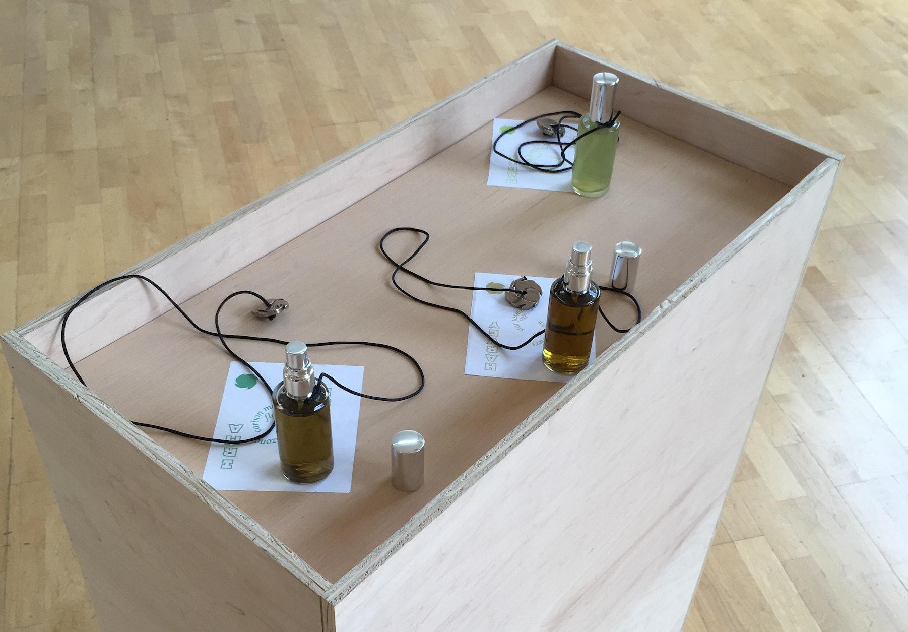 """Hurricane,"" a fragrance series developed by Zoe Tambling."