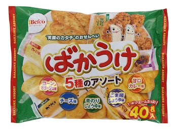 New Japanese Senbei Assortment Bakauke