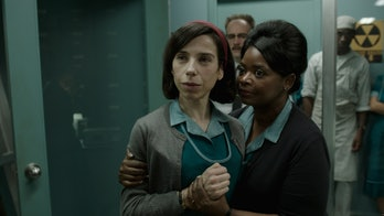 Sally Hawkins and Octavia Spencer in 'The Shape of Water'.