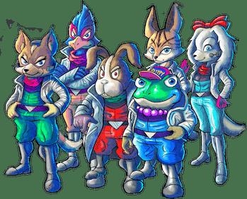 'Star Fox 2' characters