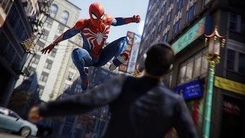 'Spider-Man' PS4 combat