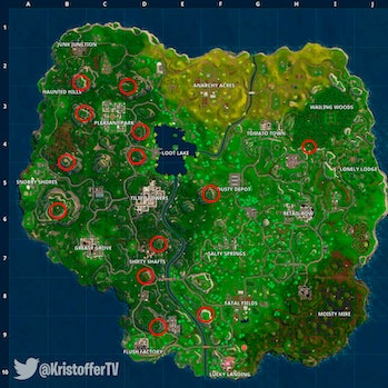 'Fortnite' Mountain Peaks