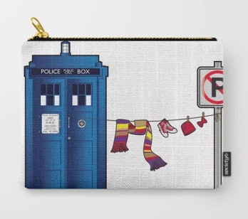 Doctor Who: tardis wardrobe Carry-All Pouch