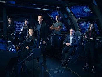 the cast ofMarvel'sAgents of S.H.I.E.L.D.