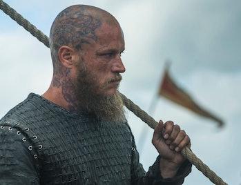 Ragnar Lothbrok in 'Vikings'