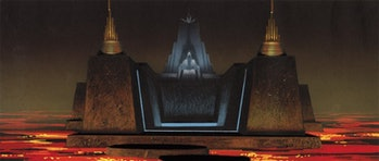 'Return of the Jedi' concept art by Ralph McQuarrie