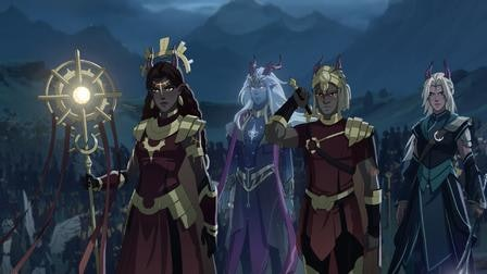 Elf warriors in 'The Dragon Prince'