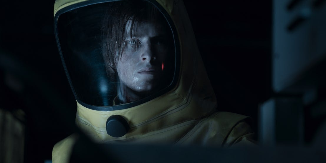 Jonas (Louis Hofmann) in 2053 Winden in Netflix's Dark