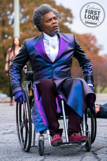 Samuel L. Jackson in 'Glass'.