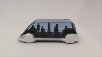 Boring Company transit skate