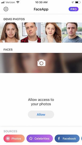 FaceApp download