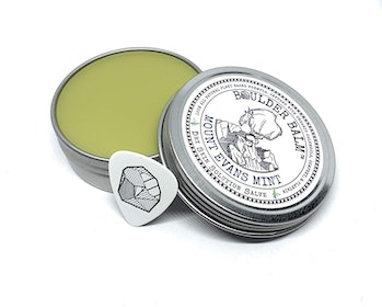 Boulder Balm: Dry Skin Salve for Active Hands & Body Hemp Oil Herb Infused Healing Balm Handcrafted by Rock Climbers