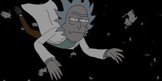 'Rick and Morty' tests Rick's atheism by breaking time itself