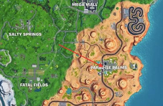 Fortnite Keyboard King map