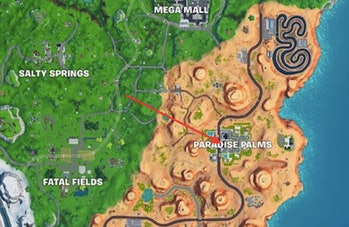 Fortnite Keyboard King map