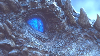 "Viserion in 'Game of Thrones' Season 7 episode 7 ""Beyond the Wall'"
