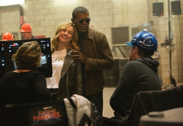 Behind the scenes on captain marvel